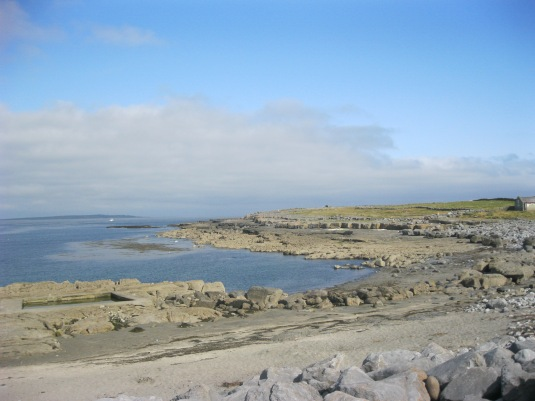 View from Aran Island