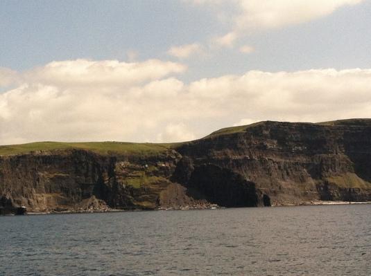 Cliffs from a distance