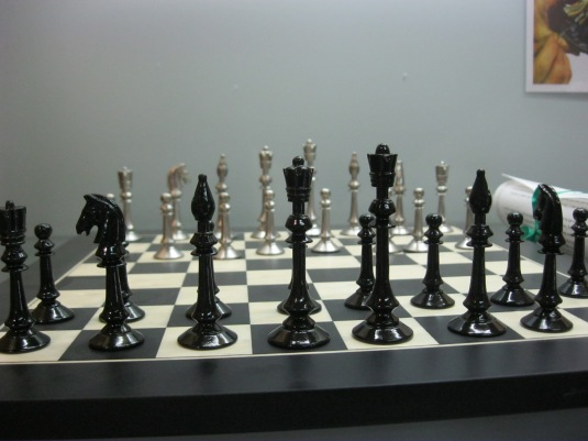 Hand-crafted Chess Set